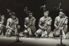 The first Asian Traditional Performing Arts (ATPA) exchange program (1976)