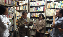 Photo of Operasi Cassava and Professors Yuji and Takako ANKEI