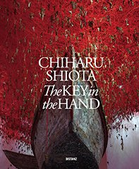 Cover of catalog: Chiharu Shiota The Key in the Hand – The Japan Pavilion of the Venice Biennale 2015