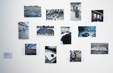 Photo of Mitsutoshi Hanaga, Mono-ha Works