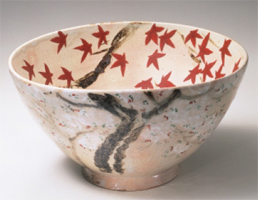 Photo of large bowl by Rosanjin Kitaoji