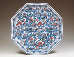 Photo of plate by Imaemon Imaizumi