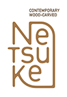 Logo of Contemporary Wood-Carved Netsuke
