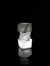 Photo of lamp by IN-EI Issey MIYAKE
