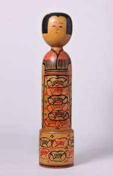 Photo of kokeshi doll