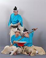 Photo of 3 male dancers