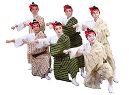 Photo of 6 male dancers