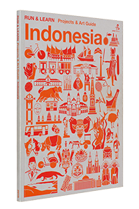 Cover of Run & Learn : Projects & Art Guide, Indonesia