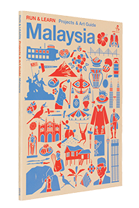 Cover of Run & Learn : Projects & Art Guide, Malaysia