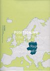 Cover of exhibition catalog: Positioning - In the New Reality of Europe: art from Poland, the Czech Republic, Slovakia and Hungary